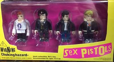 NEW Sex Pistols MEDICOM FIGURE SET JAPAN IMPORT japanese *RARE* pop vinyl