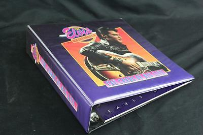 Elvis Presley Collection The Cards of His Life Binder with Dividers (No Cards)
