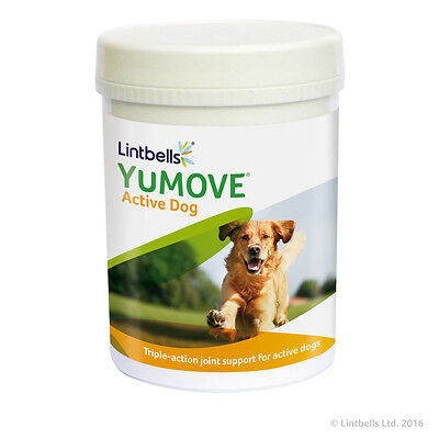 Lintbells Yumove Active Dog Joint Support Supplement Glucosamine 240 Tablets