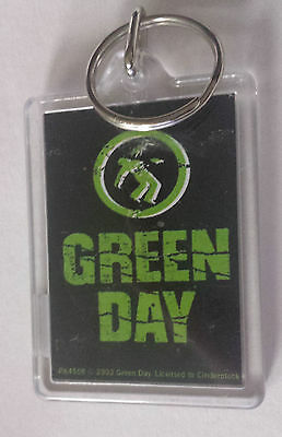 Green Day Logo Key Ring Key Fob