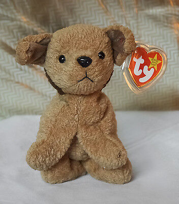 NEW with Tags Original 1996 Ty TUFFY the Dog RETIRED Beanie Baby