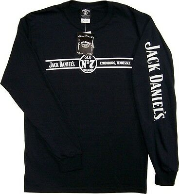 Jack Daniel's Long Sleeved Shirt 261425Jd Officially Licensed