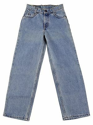 NEW VTG 90s LEVIS 550 Relaxed Fit JEANS Girls 10 Tag Stonewash Denim Deadstock !