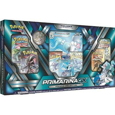 Primarina-GX Premium Collection Box - Pokemon TCG (new & sealed)