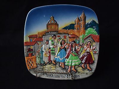"Royal Doulton John Beswick ""Christmas in Mexico"" Collectible Plate 1973"