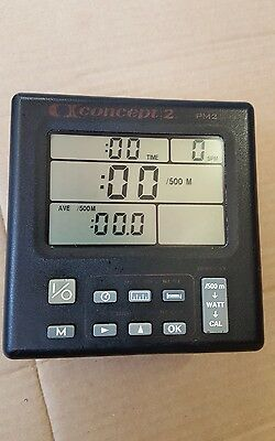 Concept 2 - Pm2 monitor, for concept 2 rowing machine C MODEL good working order