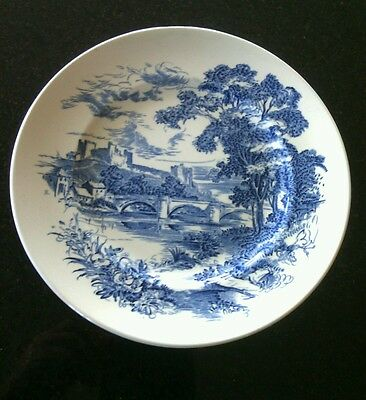 Vintage Countryside China Decorative Plate Enoch Wedgwood Genuine 1835 England