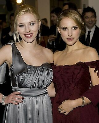 Natalie portman Scarlett Johansson 8x10 Event Photo #5