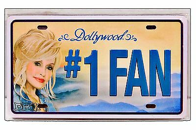 Dollywood Official Licensed Vanity Plate Magnet New for 2017 - Dolly Parton
