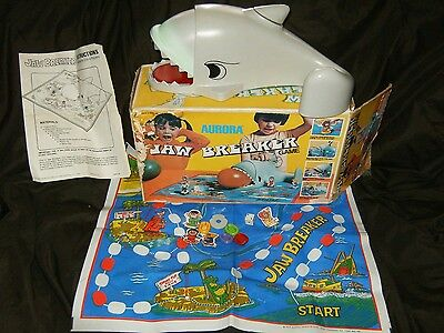 Jaw Breaker Plastic Action Game By Aurora 1976