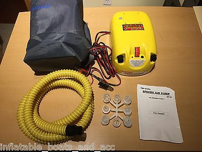 GP-80 12 Volt High Pressure Electric Pump for Inflatable Boats