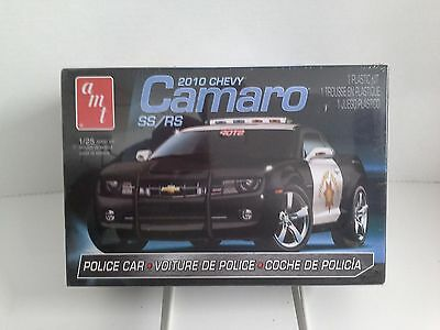 AMT 2010 Chevy Camaro SS/RS Police Patrol Car 1:25 Scale - SEALED