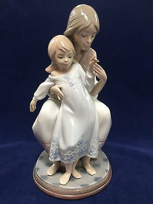 Lladro Tenderness Mother/Daughter Figurine #1527 Retired EUC