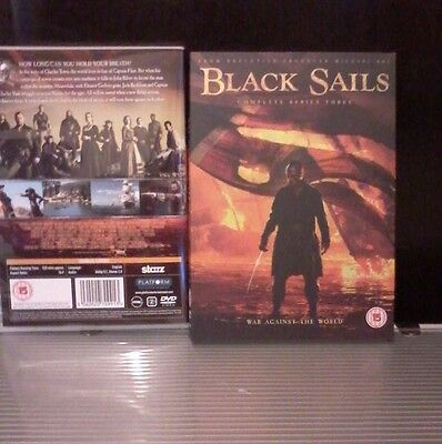 Black Sails, complete Season 3, New and Sealed UK DVD Boxset