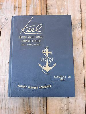 U.S. Naval Training Center, Great Lakes, Illinois USN/Navy Co. 224 1969 Yearbook