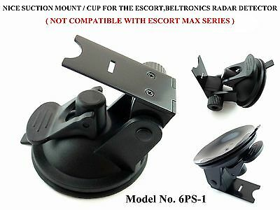 Super Grip Suction Cup Mount For The Beltronics, Escort 8500X50 Radar Detectors