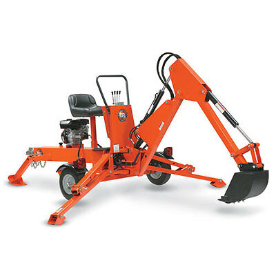 Dr 14.5 Fpt Mini Backhoe, Mini Excavator, Towable, Trench Digger