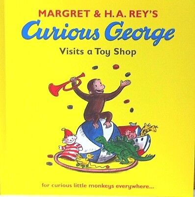 Curious George Visits a Toy Shop | Children's Story Book| Margret & H.A.Rey |New