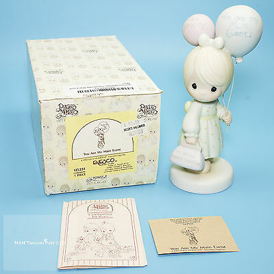 """1987 Precious Moments COLLECTOR'S CLUB """"You are My Main Event"""" Figurine 526096"""