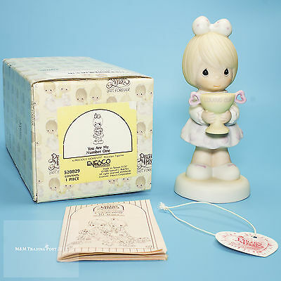 """1988 Precious Moments """"You are my Number One"""" Figurine 520829"""