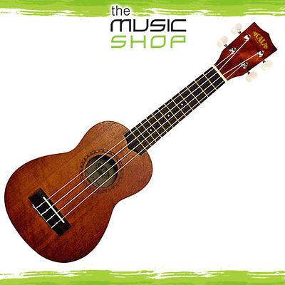 New Kala KA-15S Soprano Ukulele - Mahogany Body with Satin Finish - KA15S Uke