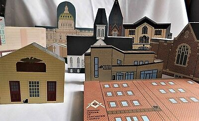 Cat's Meow Houses Buildings of Lancaster, PA -  lot of 10
