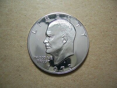 1973S Eisenhower proof dollar (SHIPPING DISCOUNTS)