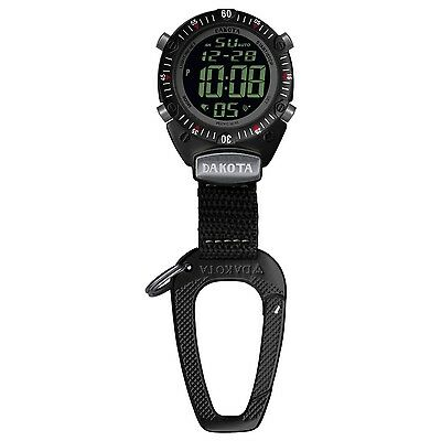 Dakota Digital Outdoor Sport Clip Watch-Black 3815-0