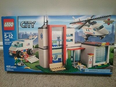 LEGO City 4429 Helicopter Rescue (New-sealed, Retired item)