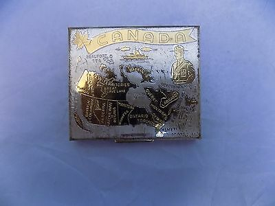 Vintage Mirrored Make-up Compact with Puff