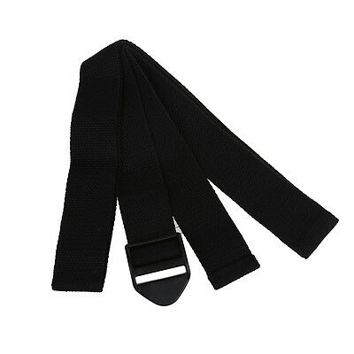 Yoga Studio Yoga Belt, Yoga Strap 100% Cotton 1.7m Anti-slip Exercise K8Z4