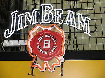 Large Neon Sign   Jim Beam   **in Stock Now**