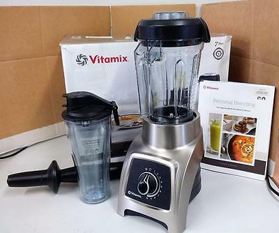 Vitamix S-Series S30 Blender 790W 10 Speed with Recipe Book in Stainless Steel