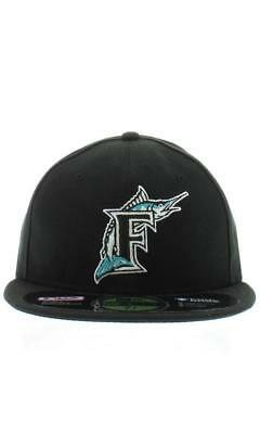 New Era 5950 MLB Florida Marlins in Black