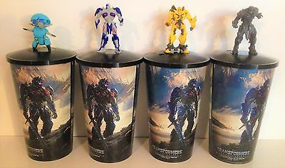 Transformers: The Last Knight Movie Theater Exclusive  Cup Topper Set #1