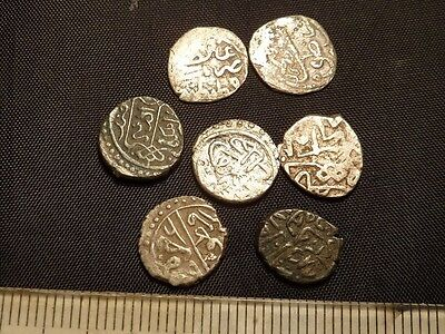 870	Lot of 7 Islamic silver coins.