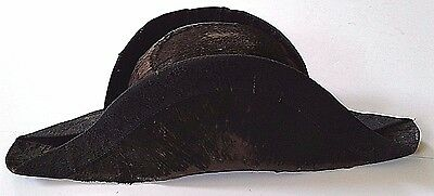 Napoleonic French Militia Officer's Bicorn Hat Not Sword War Of 1812 Ca 1810-14
