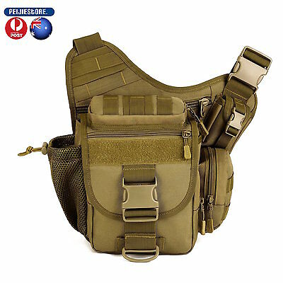 Protector Tactical Military Shoulder SLR Camera Outdoor Bag for hiking camping