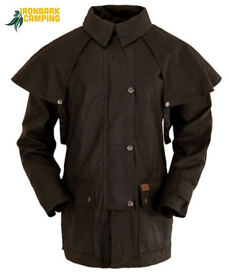 ''NEW'' Oilskin - Outback 3/4 Jacket - Coat