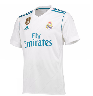 2017 2018 NEW Real Madrid HOME Football Soccer Shirt Jersey Ronaldo Ramos Bale
