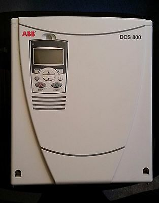 ABB DCS 800 DC Drive 125 AMP  COMPLETE! WORKS PERFECTLY!! LOW HRS!