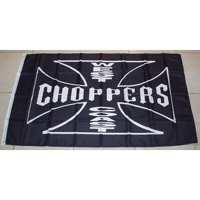West Coast Choppers Flag 3'x 5' Banner made in USA Flag Only