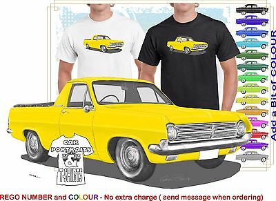 65-66 HD HOLDEN VAN HOODIE ILLUSTRATED CLASSIC RETRO MUSCLE SPORTS CAR