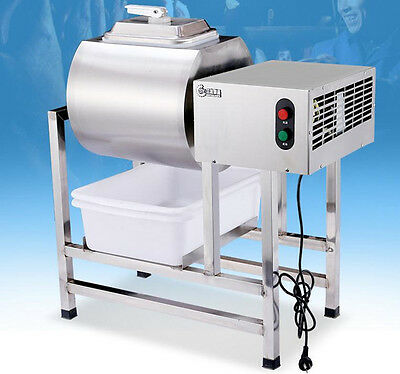 CE Stainless Steel Meat Salting Machine/Meat Poultry Tumbler Machine 25L 220V