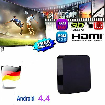 S805 Quad-core1GB+8GB 3DMedia Player Real-time Display Smart TV BOX Android 4.4#