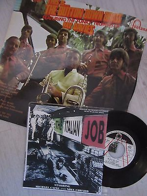 """45rpm    button down brass    ITALIAN JOB (ON DAYS LIKE THESE) 7"""""""