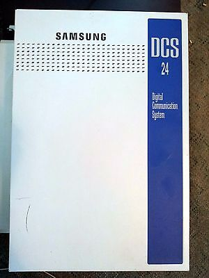 Samsung DCS24 Business Telephone System PABX