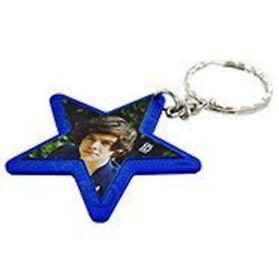 One Direction Interactive Jewellery - Star Keyring - Blue - Harry - New