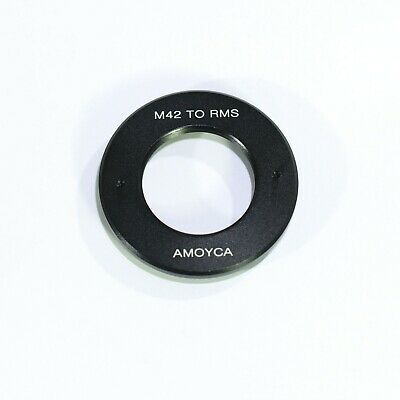 Camera Adapter For RMS Royal Microscopy Society Lens to M42 Mount Adapter