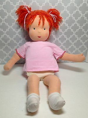Kathe Kruse 20 inch Waldorf Doll RED Hair
